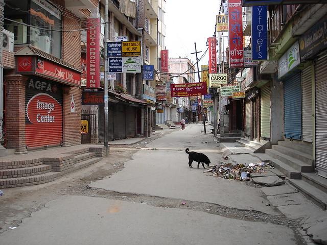 Thamel under curfew