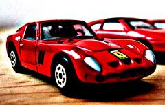 race car, model car, automobile, vehicle, automotive design, ferrari 250 gto, alfa romeo giulia tz, land vehicle, supercar, sports car,
