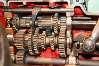 gear motor In Stahl gegossener Geist V