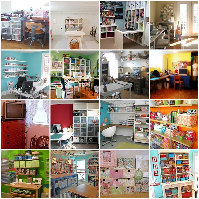 Craft Room Inspiration | Flickr  Photo Sharing! 500 x 500