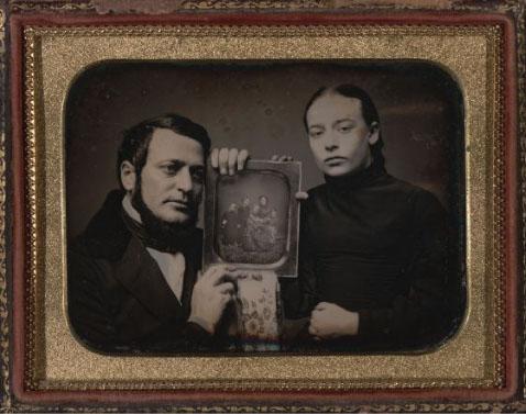 Reflexive Daguerreotype