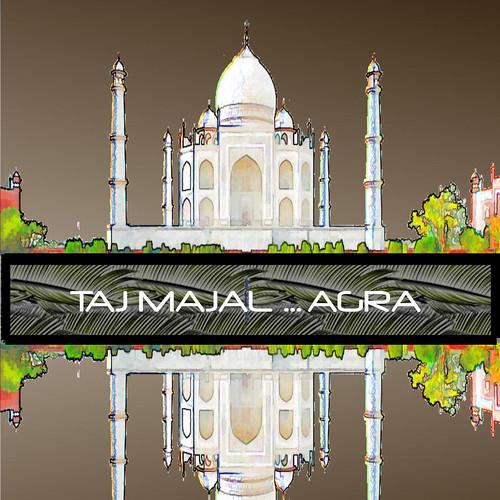 india agra digitalimaging tajmajal pspx2 adobe5 topazsimplifyandadjust dharmensinghphotography
