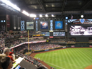 Arizona Diamondbacks 9, Los Angeles Dodgers 4, Chase Field, Phoenix, Arizona (3)