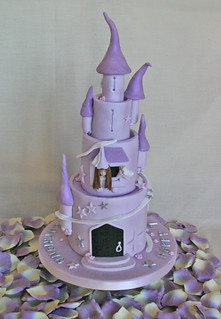 Birthday Cake (085) - Princess Castle