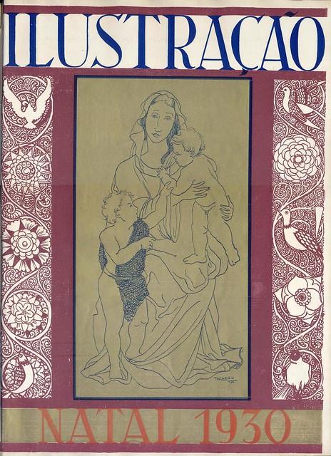 Ilustração, No. 120, Natal, Dezembro, 16 1930 - capa