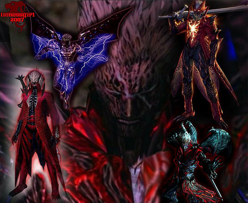 Devil May Cry Dante Demon Form Wallpaper