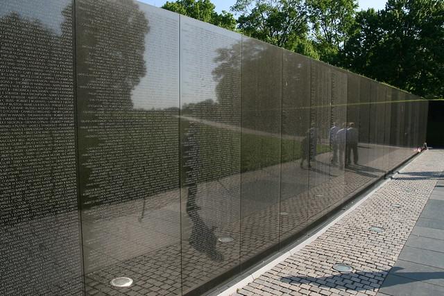 Vietnam War Memorial Wall The Memorial Wall designed by