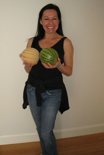 melons, tuscan melons, jeans, tank top, see… IMG_9195
