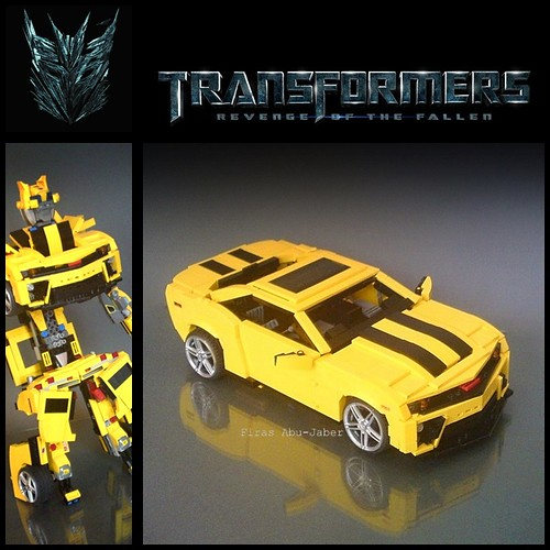 LEGO transformable Camaro (BumbleBee)