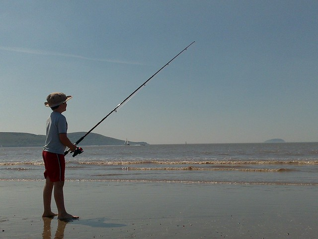 Weston Beach Fishing