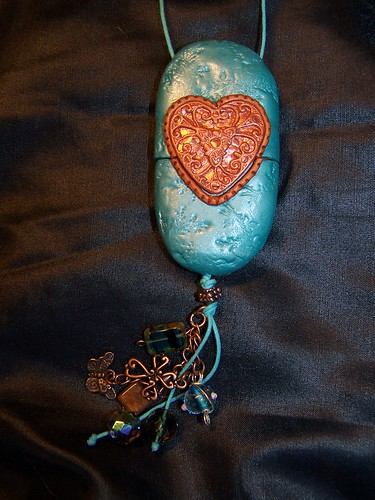 Turquoise Rock Purse