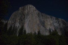El Capitan by Moonlight