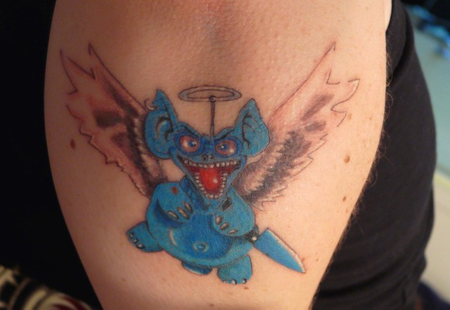 P1440180mc camp koala flickr photo sharing for Butcher knife tattoo
