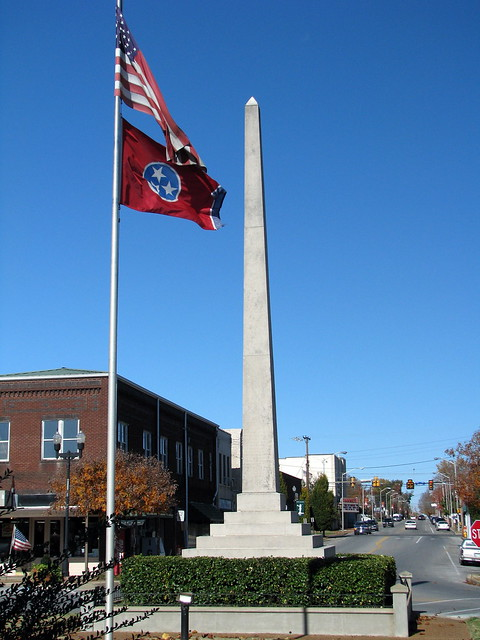 Lawrenceburg Mexican War Monument