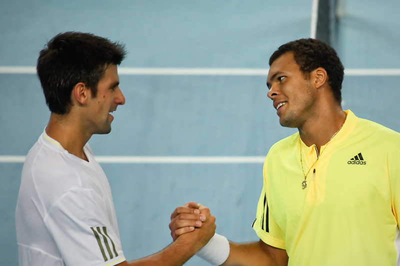 Novak Djokovic / Jo-Wilfried Tsonga