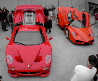 ferrari f50 and enzo