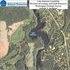 Lake Kokanee Map South Of Lake Cushman Mason County Flickr
