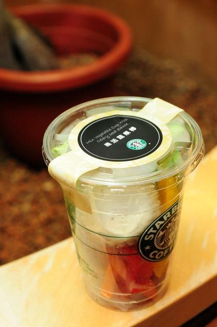 星巴克2009新菜色-樂活蔬果棒