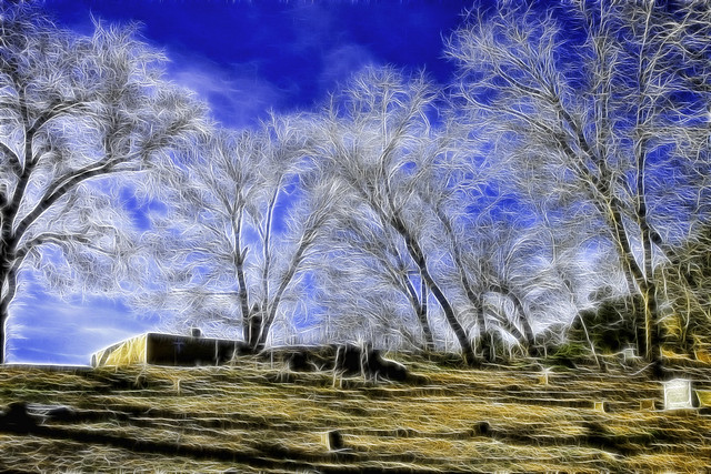 Fractalius Cemetery & Trees-1