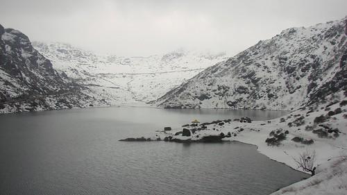 india lake himalayas sikkim highaltitude tsomgolake