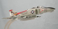model aircraft(0.0), convair f-102 delta dagger(0.0), aviation(1.0), airplane(1.0), vehicle(1.0), rocket powered aircraft(1.0), mcdonnell douglas f-4 phantom ii(1.0), fighter aircraft(1.0), scale model(1.0), jet aircraft(1.0),