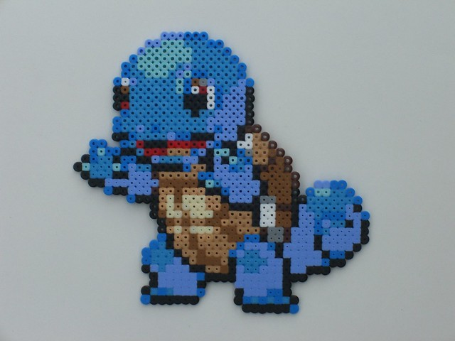 Squirtle bead-sprite