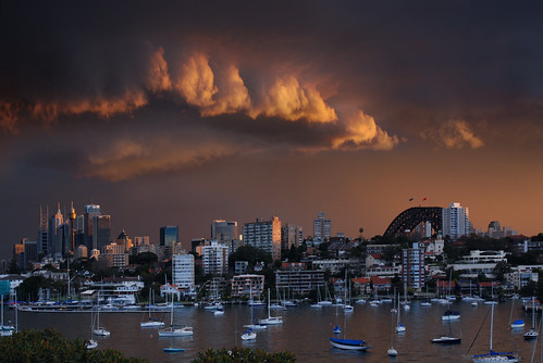 Sydney Midwinter Stormy Sunset