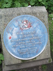 Photo of Mary Moffat blue plaque