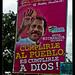 El presidente gets religious, too, Nicaragua