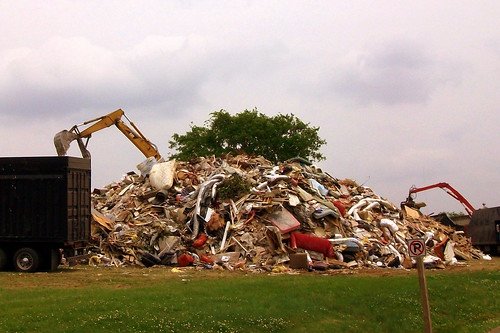 Nashville Flood Debris