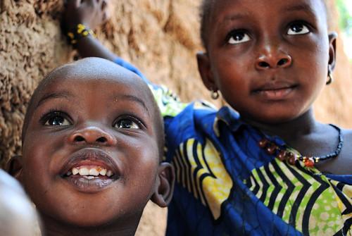 le rêve dans les yeux d'enfants maliens