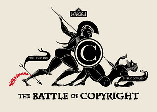 THE BATTLE OF COPYRIGHT  2011