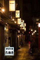 Asakusa night signs