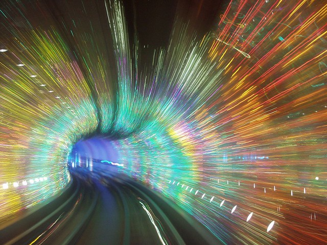 Shanghai - Bund Sightseeing Tunnel