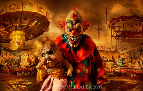 3192723155 3a187b3ec6 Carnival of Horror wtf Wallpaper clowns