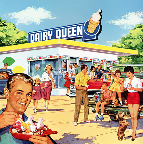 Part of a 1960 Dairy Queen magazine ad