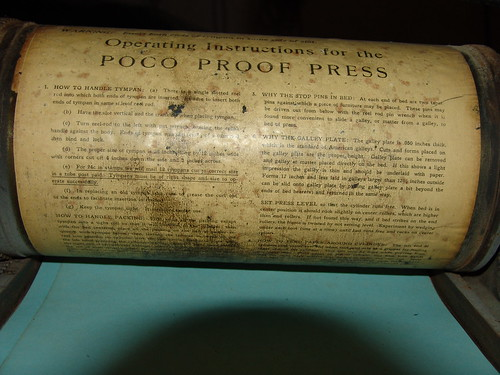 Poco proof press instructions 2