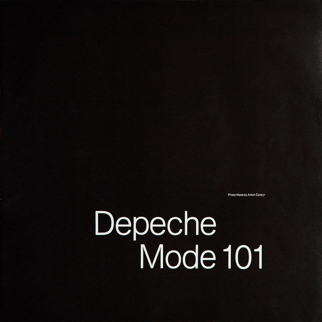 depeche mode 101 1989 record inside photo book cover a photo on flickriver. Black Bedroom Furniture Sets. Home Design Ideas