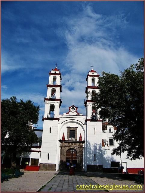 Parroquia Santo Angel Custodio (Analco) Puebla de los Ángeles.