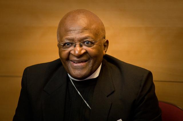 Desmond tutu smiling Young Desmond Tutu