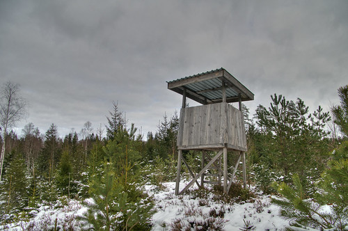 hunting shed in sweden