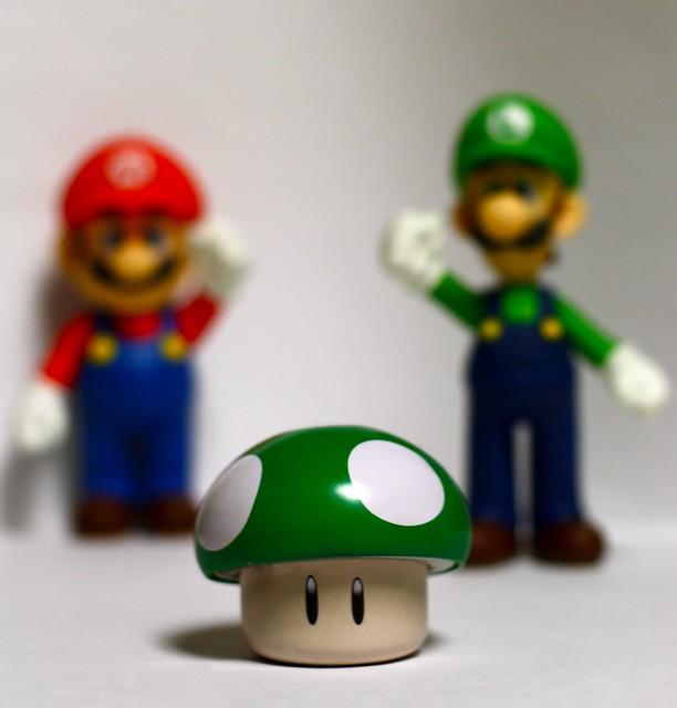 Luigi Mario Extra Life