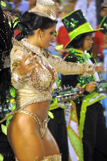 Carnaval Rio 2009 Sambodromo, Thatiana Pagung