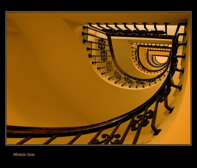 La escalera.......