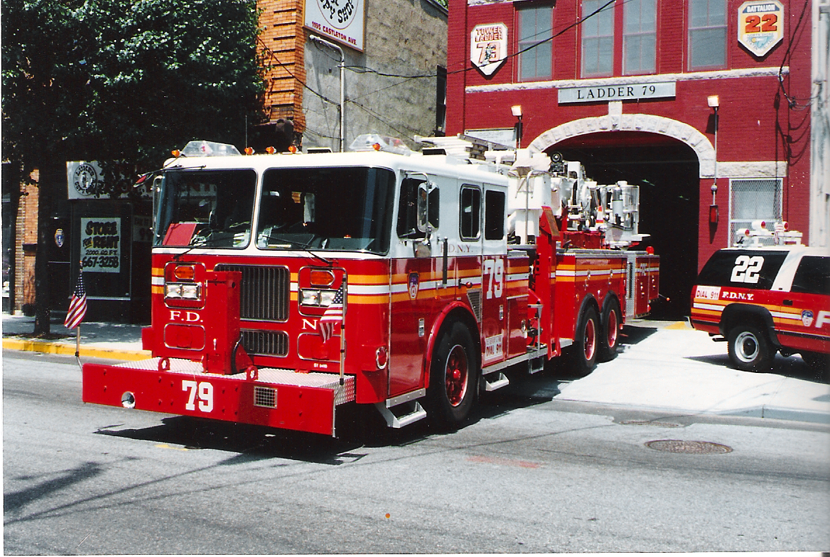 Fdny Tower Ladder 79 Seagrave A Photo On Flickriver