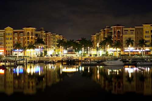 ocean county city nightphotography vacation reflection building water night buildings collier landscape boats photography lights evening boat downtown florida palm palmtrees cabana palmtree naples nightlife naplesflorida bayfront