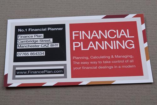 business plan financial advisor