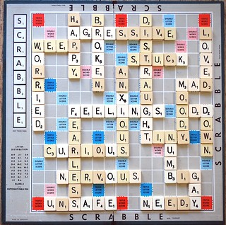 Feelings Scrabble Art     16/06/2009      http://www.daveysutherland.com/