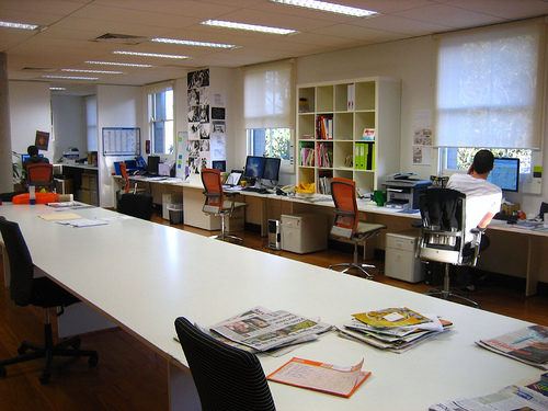 Workalicious reactive sydney studio for Well designed office spaces