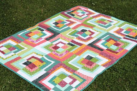 modified bento box quilt